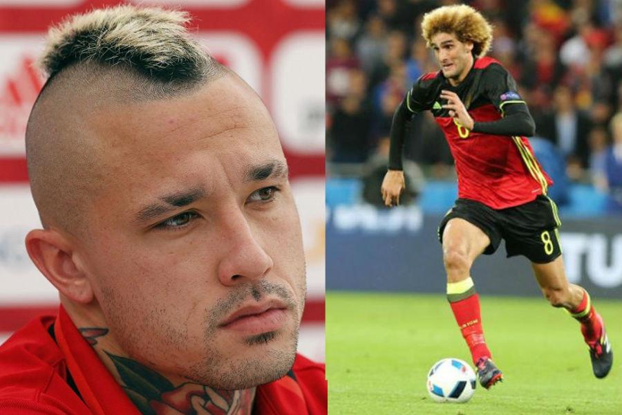 Причёски и стрижки футболистов