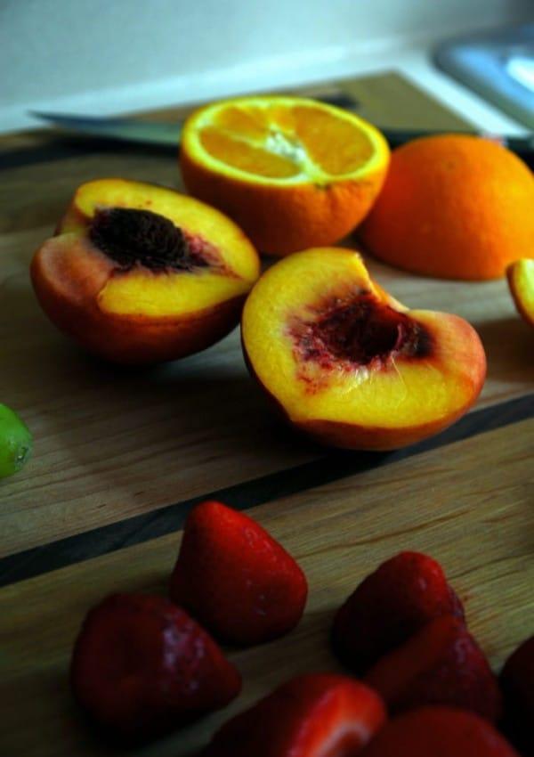 Everyday Fruit Salad with Sweet Cider Dressing