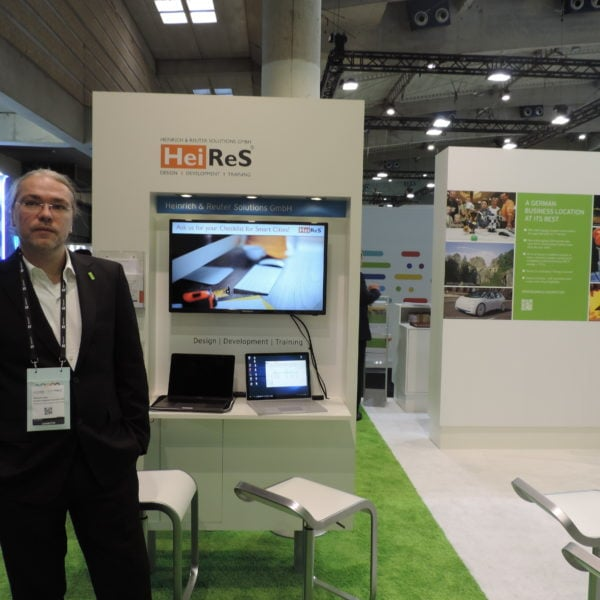 HeiReS at the Smart City World Expo Conference in Barcelona