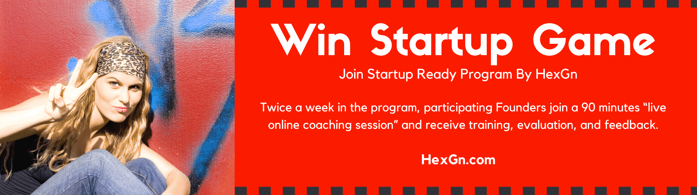 "Twice a week in the program, participating Founders join a 2 hours ""live online coaching session"" and receive training, evaluation, and feedback. After each session, the founders then build their businesses for the rest of the week"