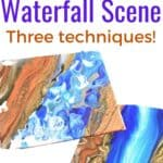 Acrylic Painting Lessons for Beginners Waterfall Scene