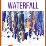 Easy Painting Idea on Canvcas Abstract Waterfall
