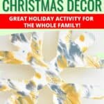 Acrylic Paint Pouring Christmas Decor! Easy and Fun for the whole family!