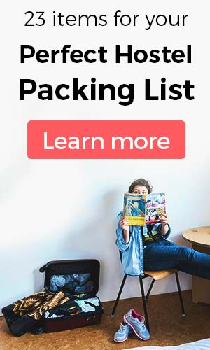 Perfect Hostel Packing List