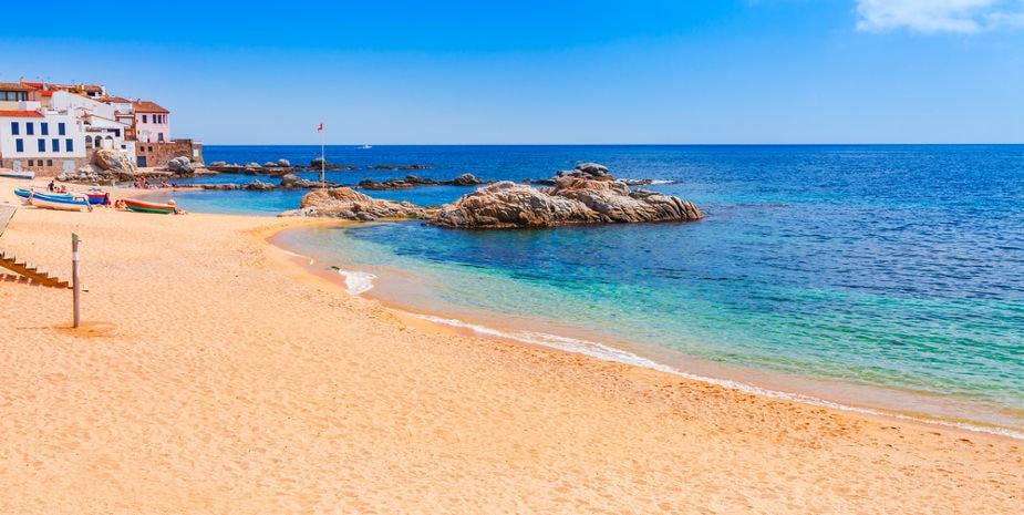 Calella de Palafrugell beach 2