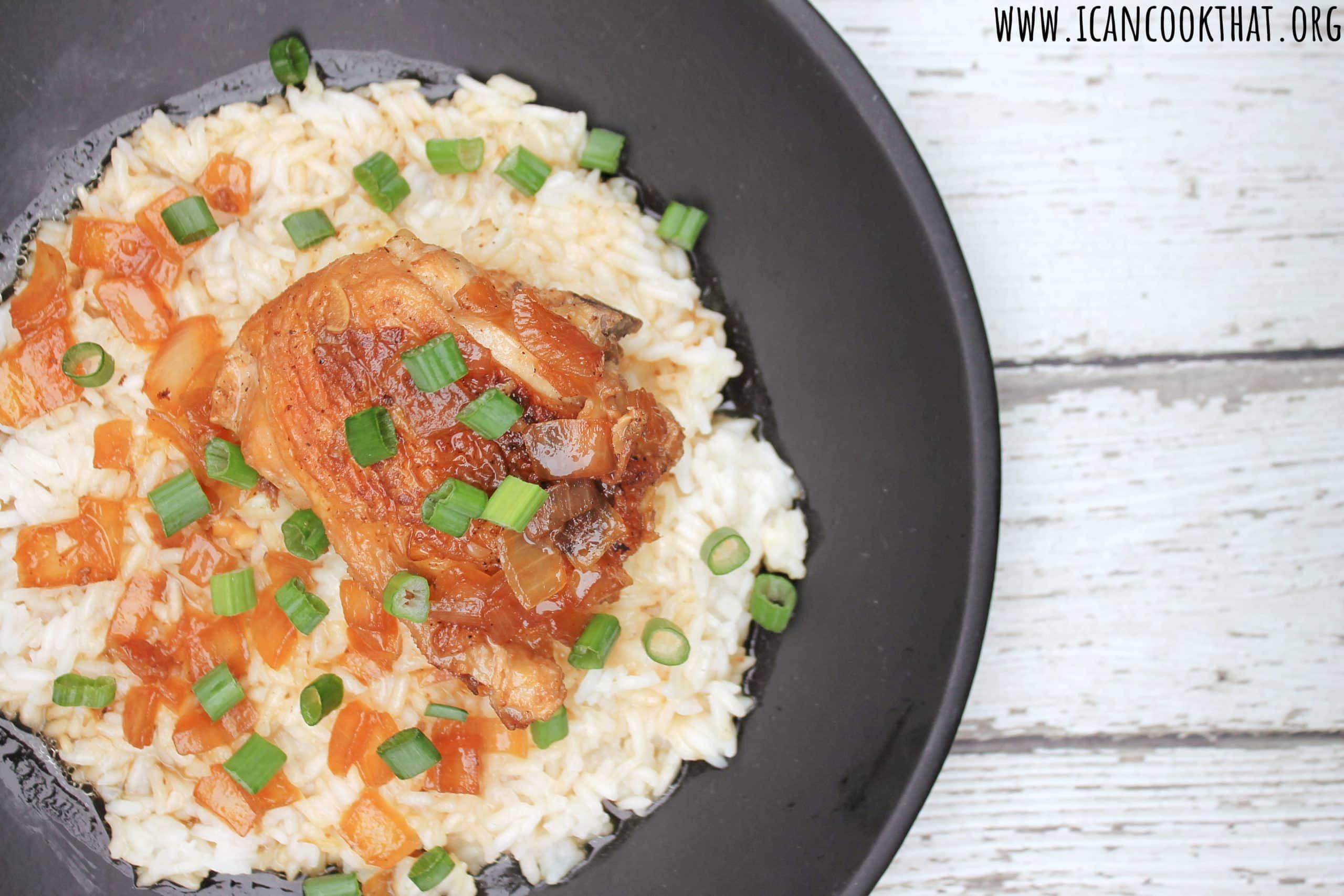Pressure Cooker Chicken Adobo