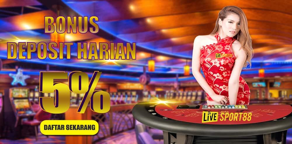 LIVESPORT88 | Situs Agen Casino Online Terpercaya