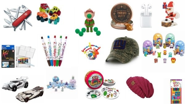 stocking stuffers for kids and teens ages 3 to 13