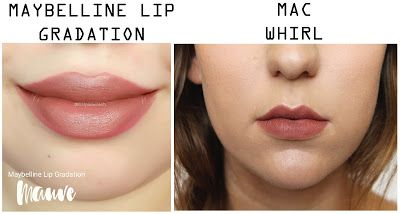 MAC Whirl Dupe