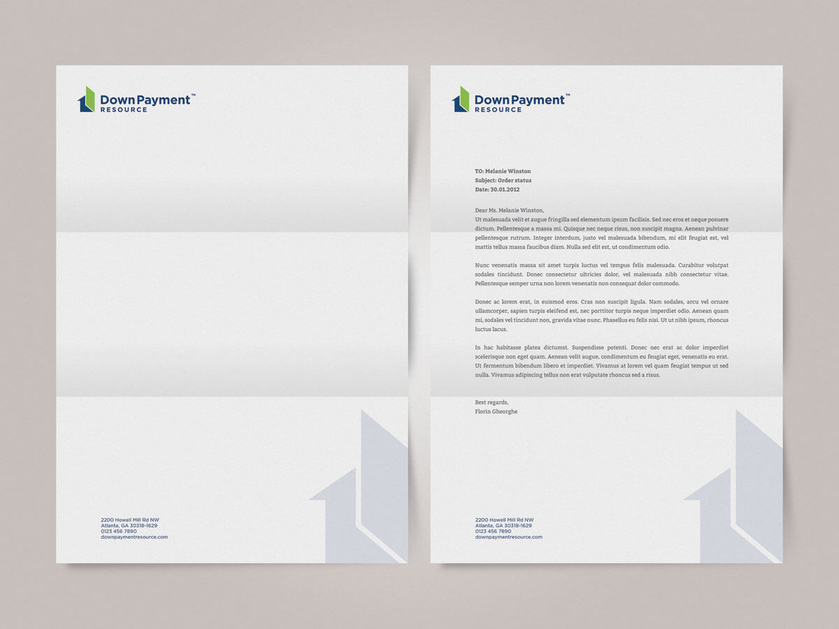 Letterhead Design Services UK Graphic Designer