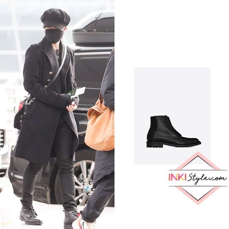 Bts Jimin Jin And V Bundled Up In Winter Ready Outfits At The Airport Inkistyle