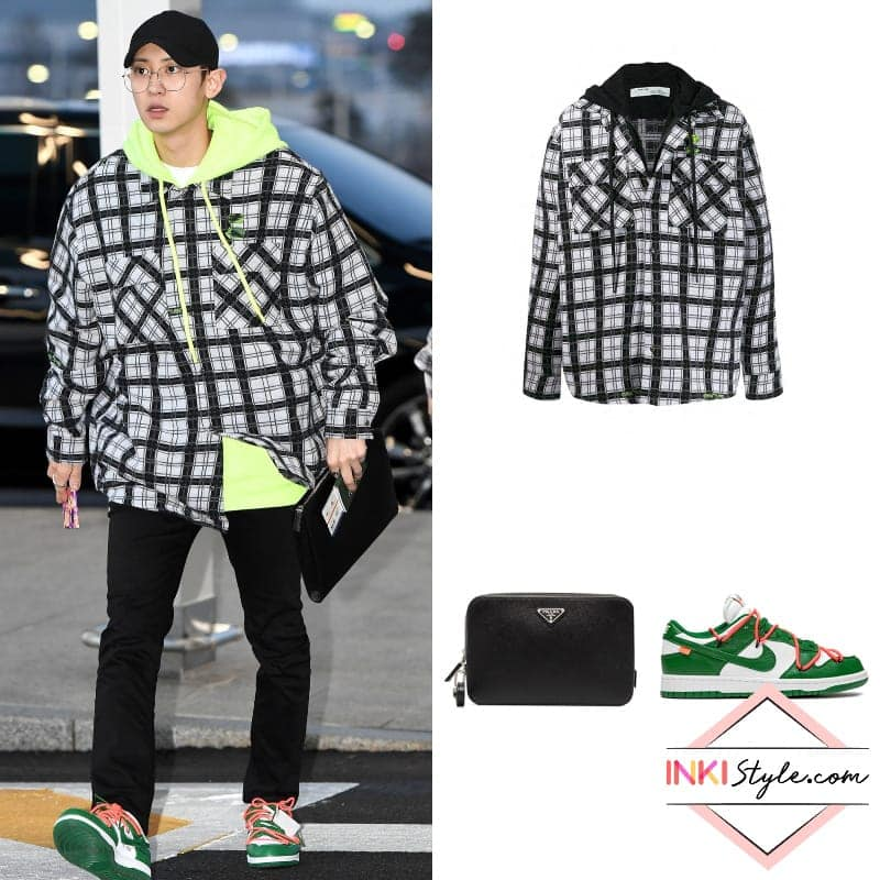 Exo S Chanyeol Showcasing The Right Way To Rock Check Pattern With