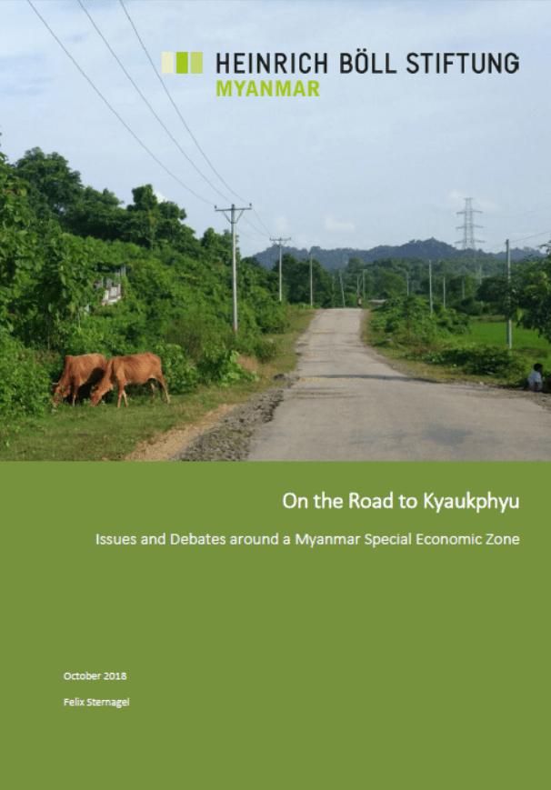 On the Road to Kyauk Phyu
