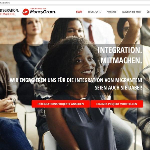 Integration Mitmachen als Plattform zur Unterstützung von Integrationsprojekten