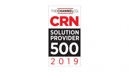 iVision Recognized on CRN®'s 2019 Solution Provider 500 List