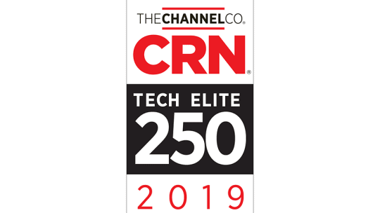 iVision Named One of 2019 Tech Elite Solution Providers by CRN®