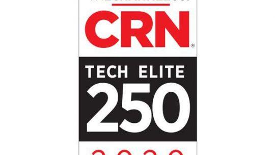 iVision Named to the 2020 Tech Elite 250 by CRN