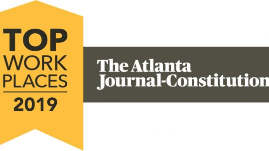 iVision wins Atlanta's Top Workplaces Award for 2019