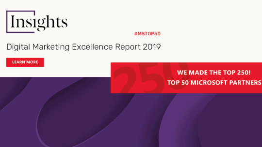 iVision Named in the Top 250 of the Digital Marketing Excellence Report 2019 from Fifty Five and Five