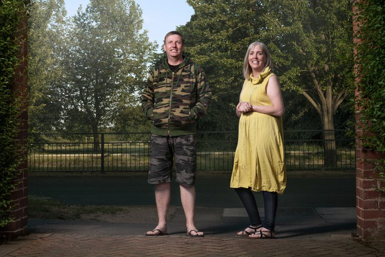 Clive & Clare - 'It's taught me the strength of the human spirit, how we are able to adapt and pull together in tough times. I hope when things go back to normal I never take for granted that hug from a loved one.'