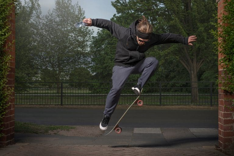 Dan - 'It's all about respect for 1 another even if you ride a skateboard or BMXing . Just respect each other because other people could be having a harder time dealing with this situation.'