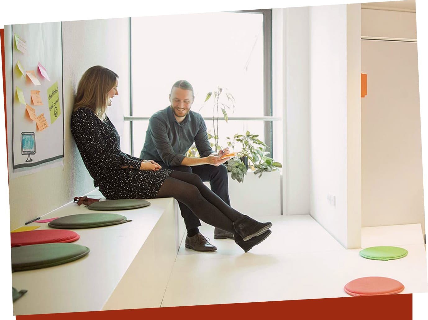 Co-Working bei EOS