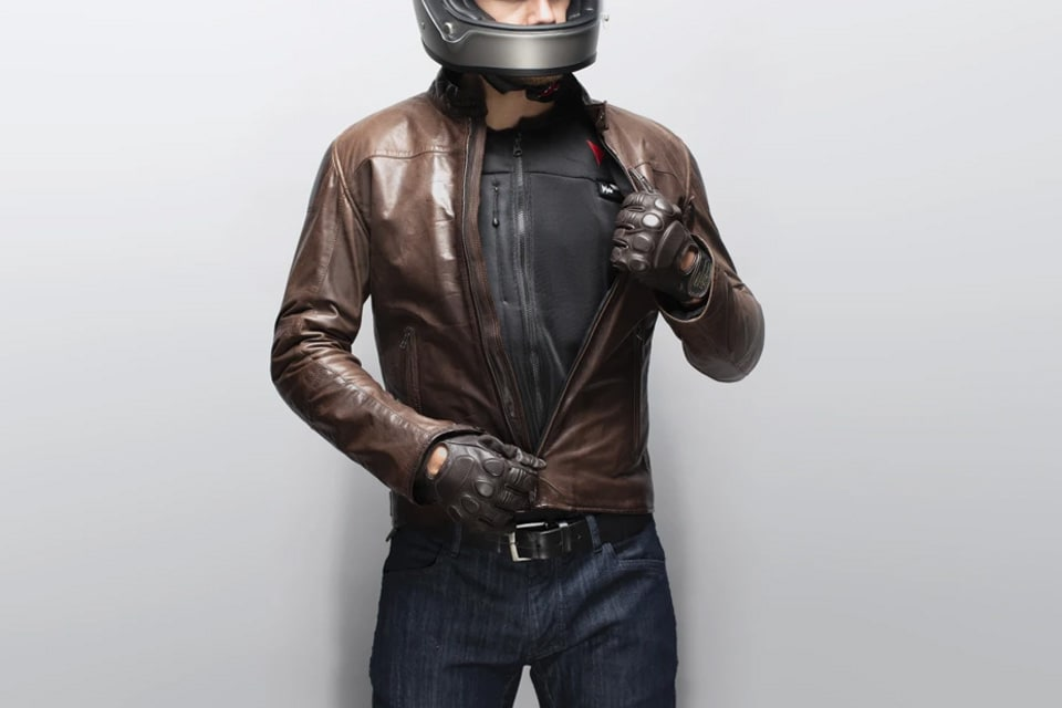 A Smart Jacket Featuring an Airbag Vest for Motorcycle Riders
