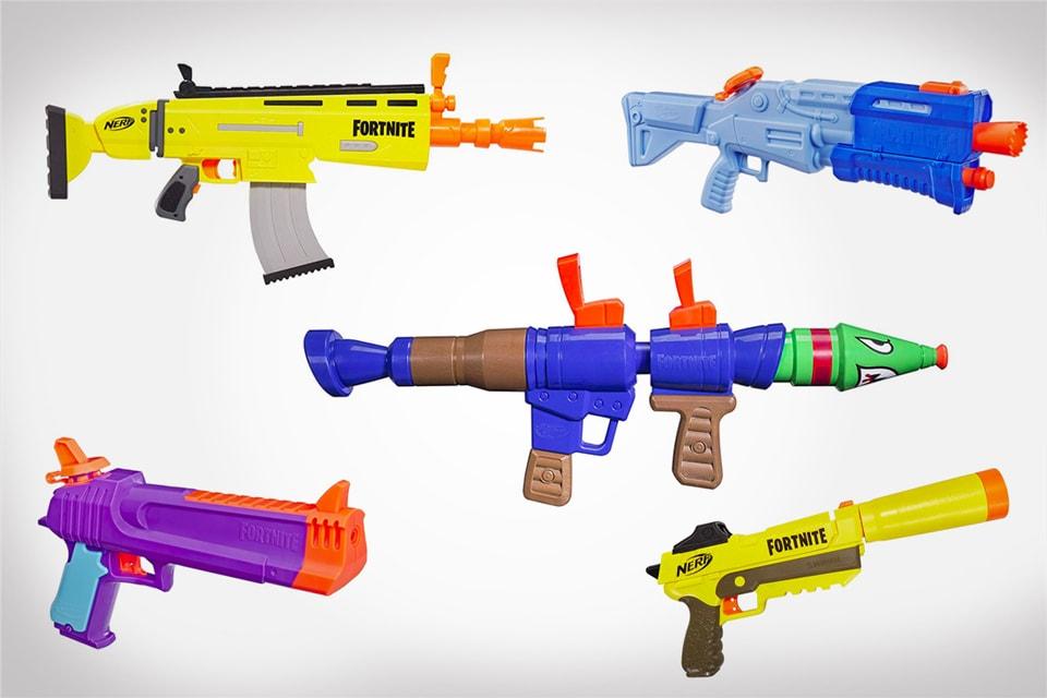 Replica Fortnite NERF Guns