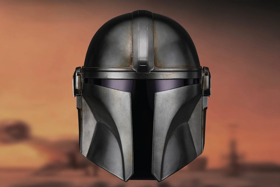 Wearable Mandalorian Helmet