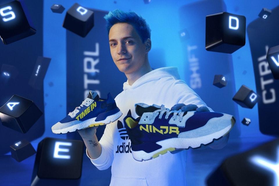 Ninja x Adidas Nite Jogger 'Time In' sneaker