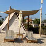 Wave tent