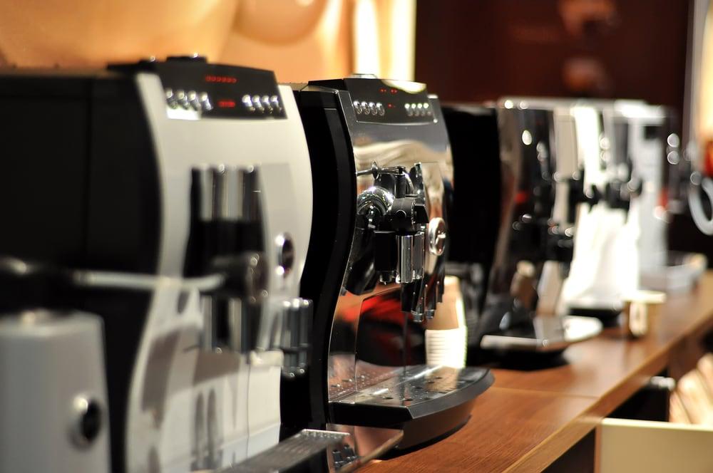Kaffeevollautomaten - verschiedene Modelle