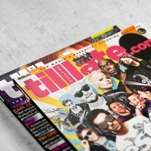 Tilllate.com - Magazine Design