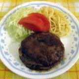 和風テイストな煮込みハンバーグ(しょうが)