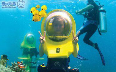 اسکوتر زیر دریایی کلوپ ۵ ستاره مرکز غواصی