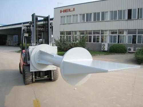 custom material senders forklift attachment