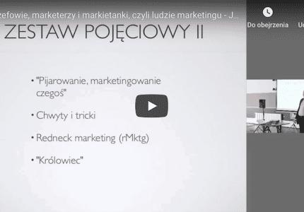 Szefowie, marketerzy imarkietanki, czyli ludzie marketingu – Jacek Kotarbiński