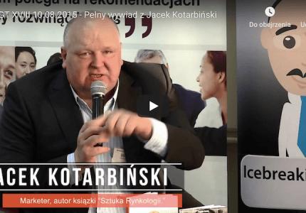 AGT XVIII 10.08.2015 – Pełny wywiad zJacek Kotarbiński