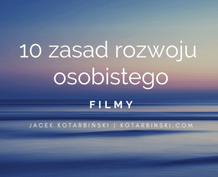 10 zasad rozwoju osobistego