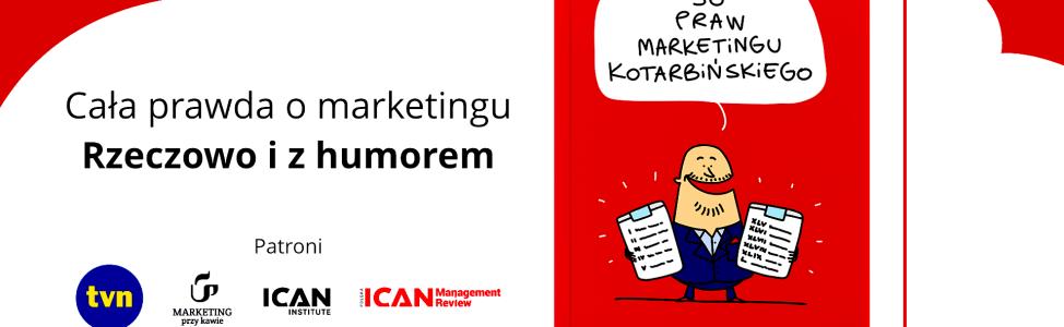 50 Praw Marketingu Kotarbińskiego -premiera książki