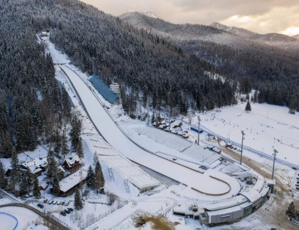 Large ski jump in Zakopane called Huge Krokiew names Stanislawa Marusarza