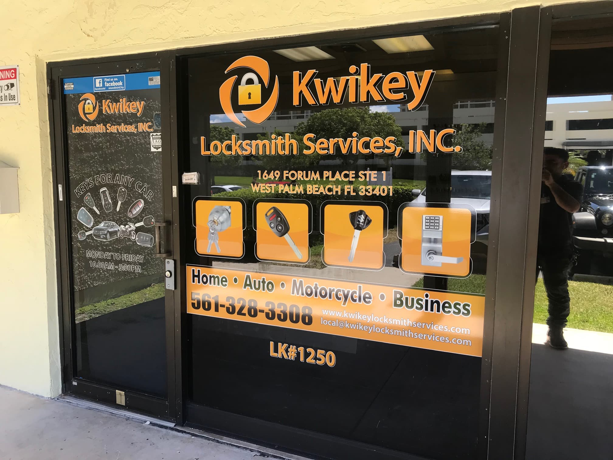 Your Go-To Locksmith - (561) 328-3308