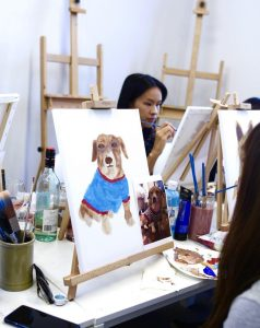 paint your pet-Sip&Paint-LadderArtSpace