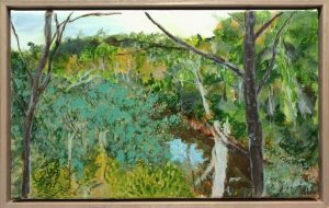 (Study for) Gathering, Warrandyte