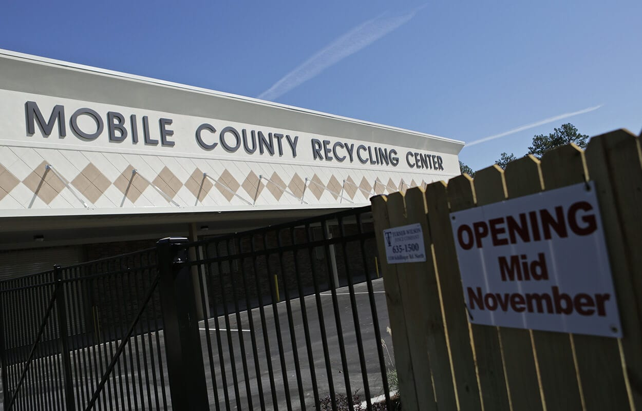 Recycling center receives statewide award