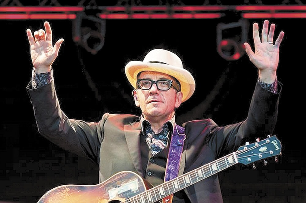 Saenger books Costello in March
