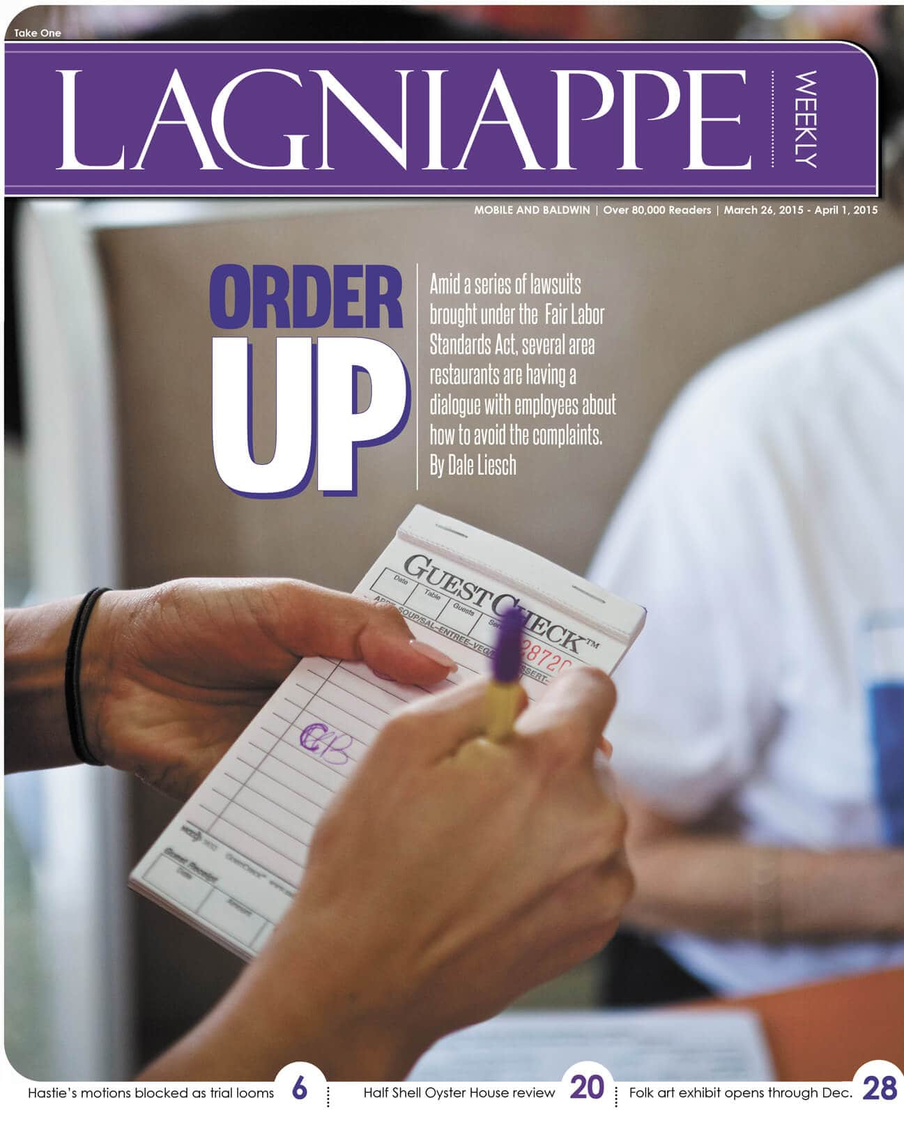 COVER STORY: Servers, lawyers react to rash of lawsuits against local restaurants