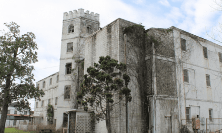 Preservationists highlight threats facing historic armory, hospital