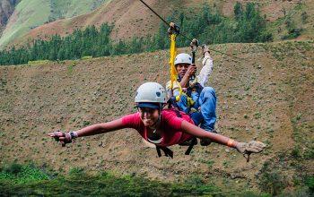Ziplining to Machu Picchu?