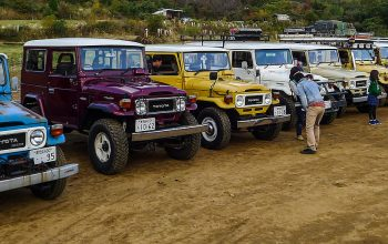 Joining the Land Cruisers Festa (Where Are We –Japan 2)